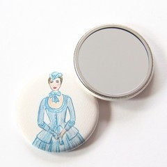 Pocket Mirror Marie Antoinette + Junior Artist Design