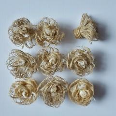 Lace & Burlap Twine Rustic Flowers