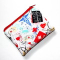 Small Coin Purse in First Aid Fabric