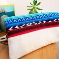 Boho foldover clutch purse