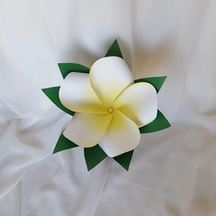 Gorgeous Giant Paper Frangipani Flower Wedding  Bouquet (Style 1)