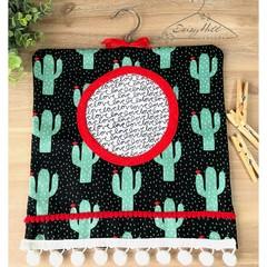 Funky Cactus Peg Bag