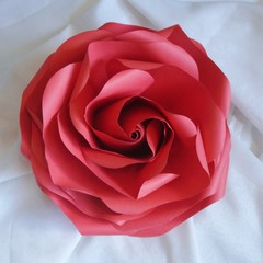 Giant Paper Rose Flower Wedding / Party Decorations (6 Pack)
