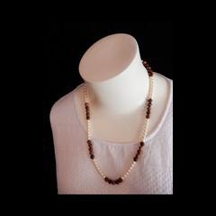 Pearl & Jasper Necklace