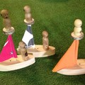 Toys of Wood sailing boat
