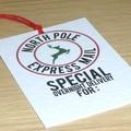 10 North Pole Express mail Santa gift tags - FREE POST