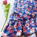 Sophia Dress- Floral Halterneck Dress, Maxi dress