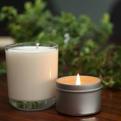 Glass candle Toasted Marshmallow