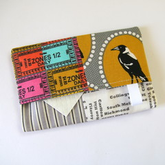 Travel Tissue Case, Pocket Tissue Holder - Melbourne Magpies