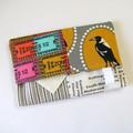 Travel Tissue Case, Pocket Tissue Holder - Melbourne Magpies