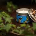Tin Candle: Coconut Mango