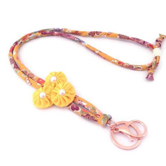 Teachers Lanyard, Work ID Holder, Japanese Lanyard, Unique Keychain, ID Necklace