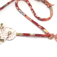 Japanese Lanyard, ID Badge Holder, Unique Keychain, Adjustable ID Necklace