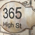 Custom Wooden House Number Street Wall signs