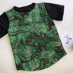 Green Dino Size 2