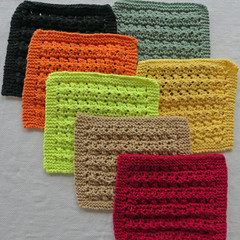 Special bulk price:  3 enviro friendly dishcloths: