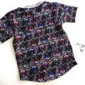 Blue Tractor Tee Size 4