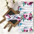 Baby Swaddle,Floral Swaddle/Newborn Swaddle Blanket/Girl Swaddle/Swaddle Set /He