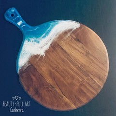 Ocean Resin Cheeseboard