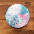 Coasters ( 4 set)  Unicorn Glitter Resin
