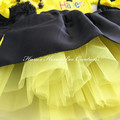 3-pcs set Personalised Yellow Wiggles Emma inspired outfit