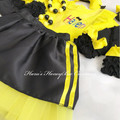 3-pcs set Yellow wiggles Emma inspired outfit