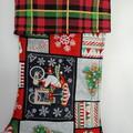Christmas Stocking (Holly Yuletide design)