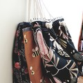 Waratah tote // market bag // beach bag // eco friendly shopper // native flower