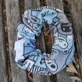 Devonport Scrunchie in Monsters print