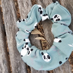 Devonport Scrunchie in Panda print
