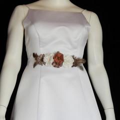 Shabby Chic Boho Bridal Sash