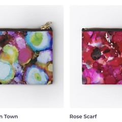Zippered Pouch - Four designs