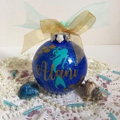 Mermaid custom made Christmas baubles