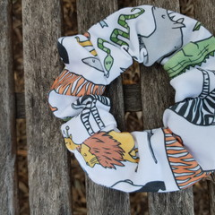 Devonport Scrunchie in Wild Print