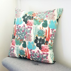 Cactus cushion // decorative pillow // boho decor