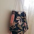 Black Cockatoo tote // market bag // beach bag // eco friendly shopper