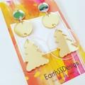 Acrylic - Dangle Earrings