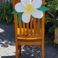 Giant Handmade Frangipani Flower Wedding / Party Decorations (6 Pack)