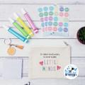 Teacher Gift It takes a big heart to help shape little minds Zippered Pouch