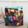 Bird tote // market bag // beach bag // eco friendly shopper