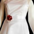Rustic Flower Bridal Sash