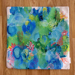 Cushion Cover - 'In the Reef - 2'