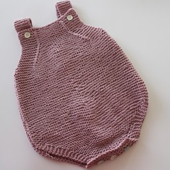 Pink Baby Romper - 