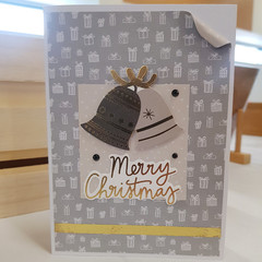 Merry Christmas, Christmas Card, Greeting Card, Christmas Bells