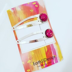 Hair clips - set of 2.