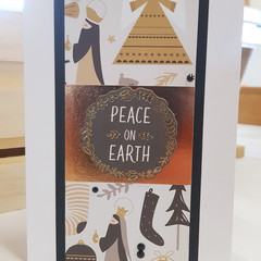 Peace on Earth, Christmas Card, Greeting Card, Wise Men