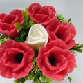 Bouquet made from soap