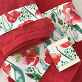 Luxury Bath towel set,Facecloth, hand towel,bath towel , free soap