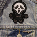 Ghostface Iron On Patch