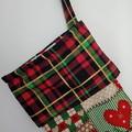 Christmas Stocking (Christmas Patchwork design)